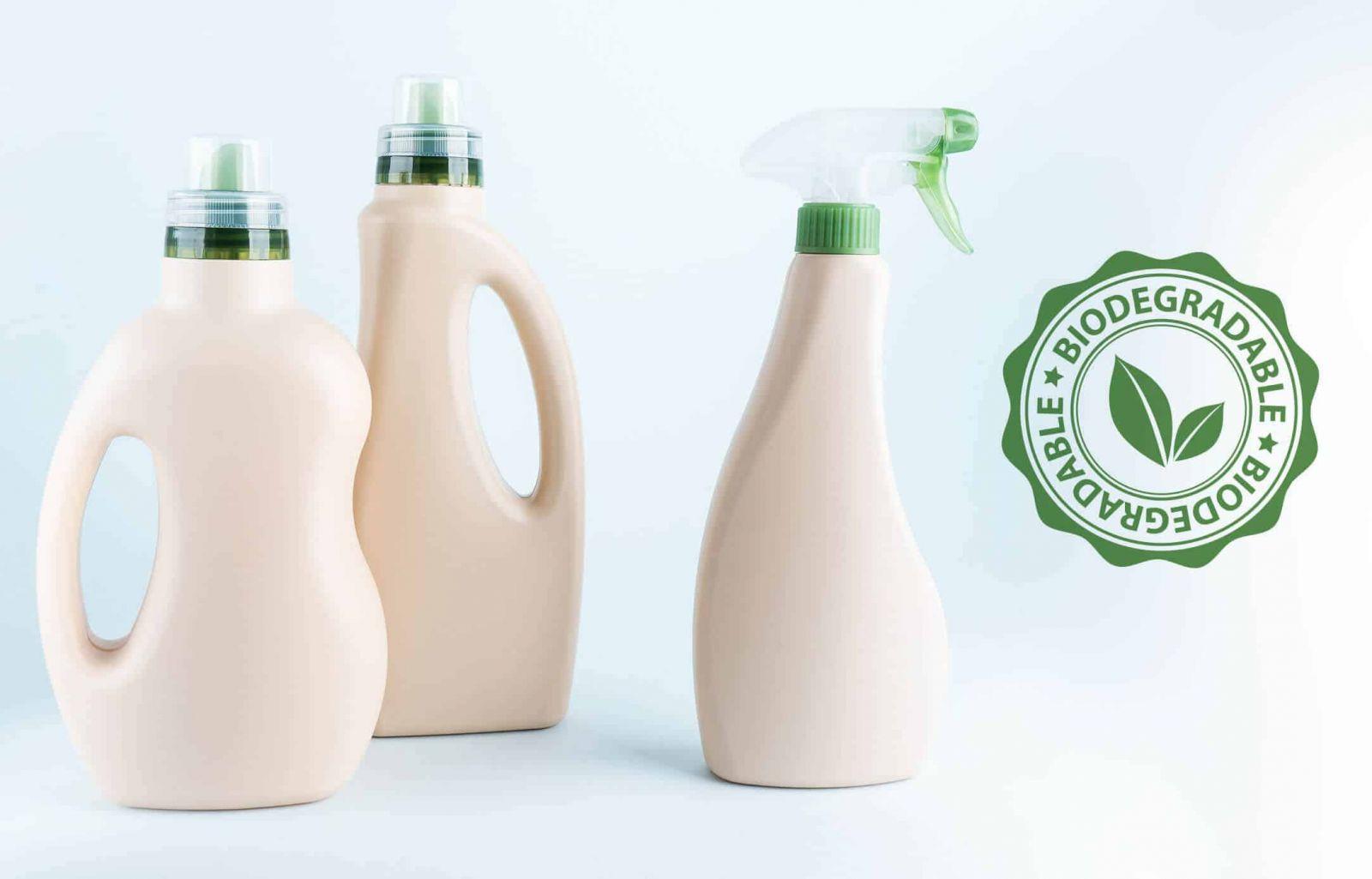 những chai nhựa được quảng cáo rằng có thể phân hủy sinh học