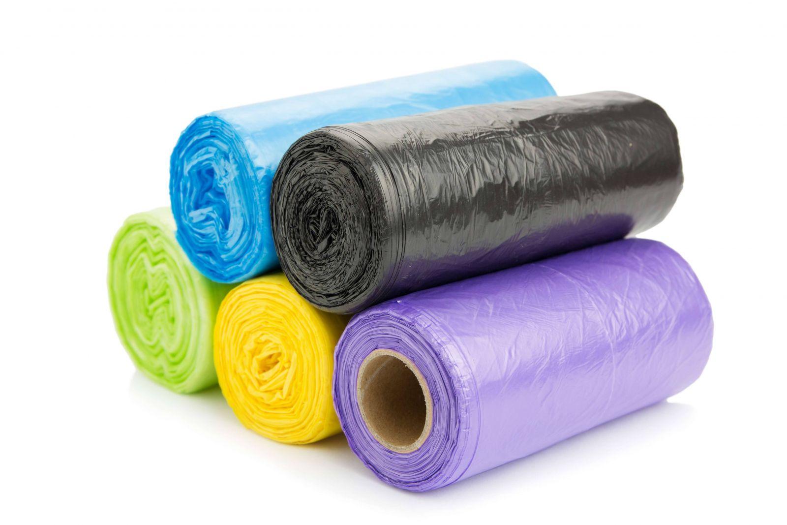 sản phẩm nilon cuộn dùng làm túi rác